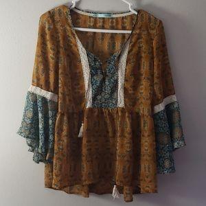 Gorgeous peasant blouse